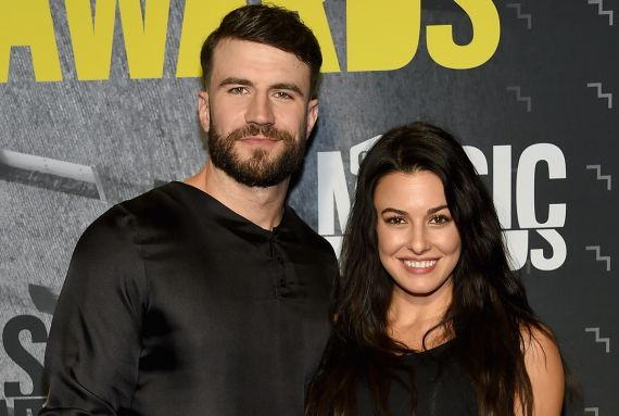 Sam Hunt and Hannah Lee Fowler; Photo by Rick Diamond/Getty Images for CMT
