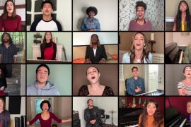 'American Idol' Top 20; Photo Courtesy of American Idol on YouTube