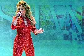 Shania Twain; Photo by Mike Coppola/Getty Images for American Heart Association