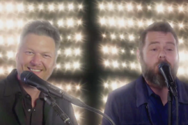 Blake Shelton, Todd Tilghman; The Voice Finale