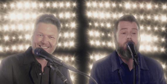 Blake Shelton, Todd Tilghman; The Voice Finale