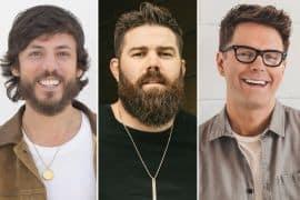 Chris Janson, Jordan Davis, Bobby Bones; Publicity Photos