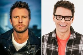Dierks Bentley; Publicity Photo, Bobby Bones; Photo by Taylor Kelly