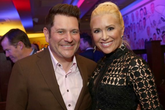 Jay DeMarcus and wife Allison Alderson DeMarcus; Photo by Terry Wyatt/Getty Images for Waiting For Wishes