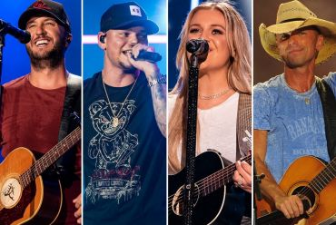 Luke Bryan, Kane Brown, Kelsea Ballerini, Kenny Chesney;Photo by Erika Goldring/Getty Images for CMT