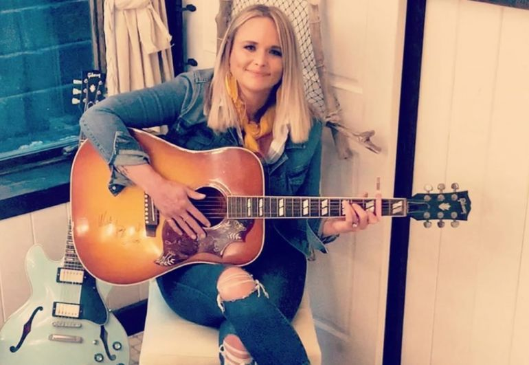 Miranda Lambert; Photo via Instagram
