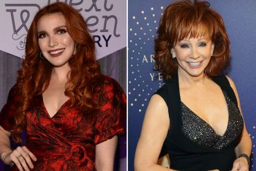 Caylee Hammack; Photos by Rick Diamond/Getty Images for CMT, Reba; Photo by Terry Wyatt/Getty Images