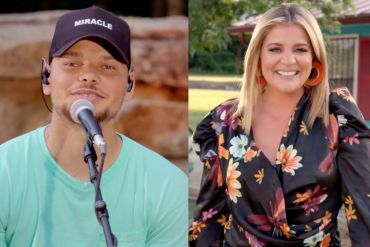 Kane Brown and Lauren Alaina; Photo Courtesy of 2020 iHeartRadio
