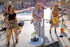 Cassadee Pope, Lauren Alaina and Lindsay Ell; Photo Courtesy of CMA Stay-Cay YouTube Livestream